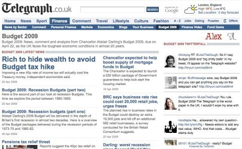 telegraph-budget-page