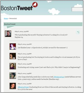 @bostontweet - job hunt