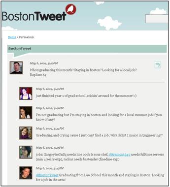 @bostontweet - job hunt