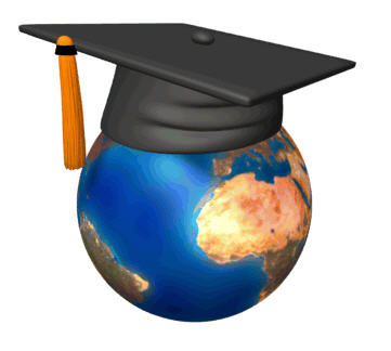 Earth Grad Cap